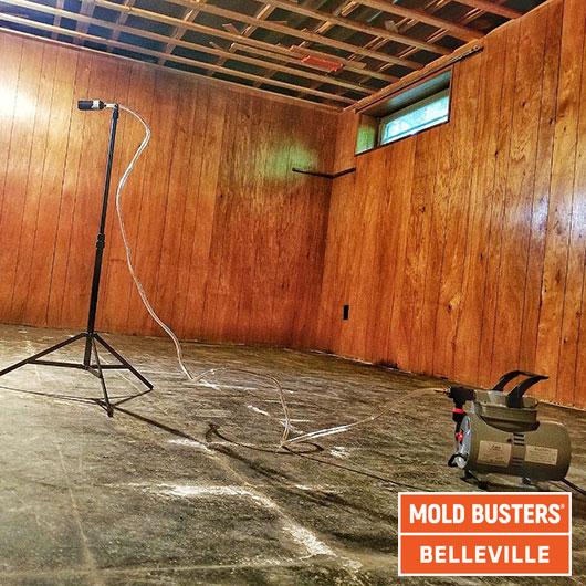 Tests de qualité de l'air - amiante - Belleville