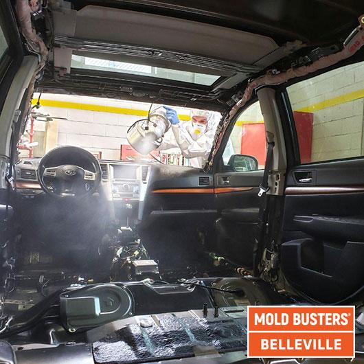 Remise en état des voitures - buée - Belleville