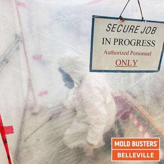 Confinement sûr - Belleville
