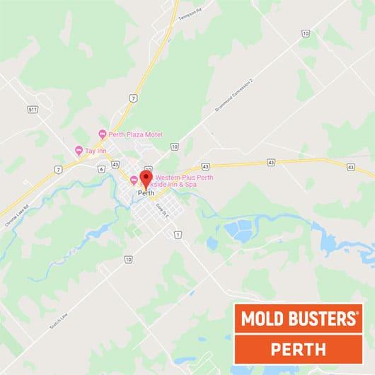 Perth Ontario carte