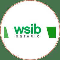 WSIB Logo English