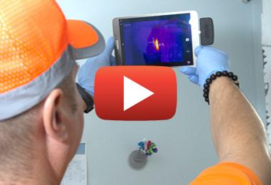 Détectez les pertes de chaleur avec l'imagerie thermique