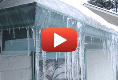 Remove Ice Dams to Prevent Leaks and Moisture Intrusion
