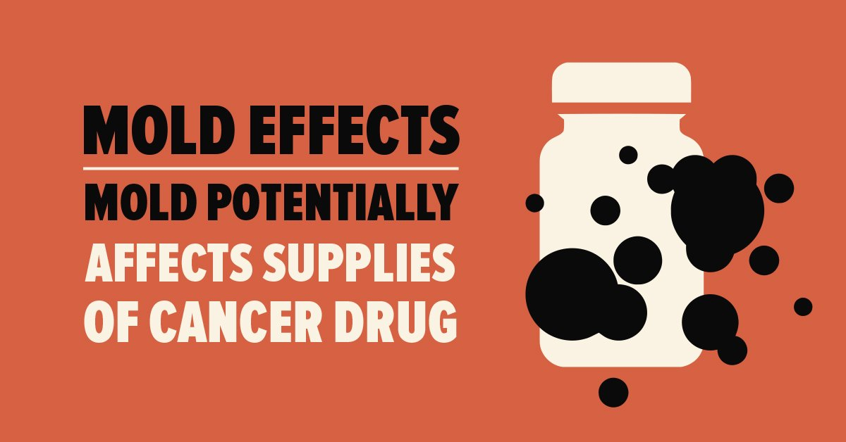 Mold Effects: Mold Potentially Affects Supplies of Cancer Drug