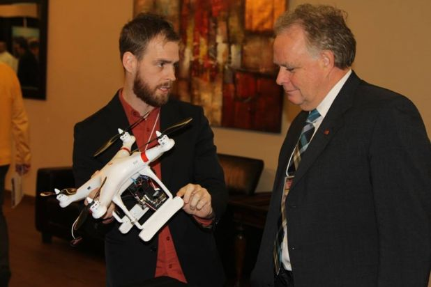Unmanned Drones for Mold Detection