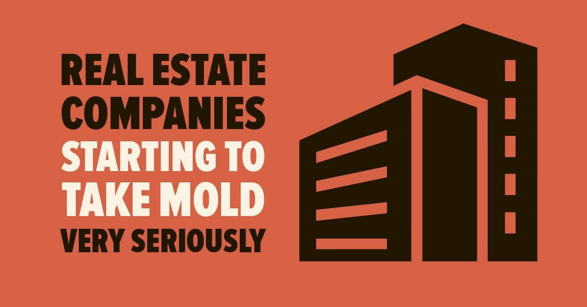 Real Estate Companies Starting to Take Mold Very Seriously