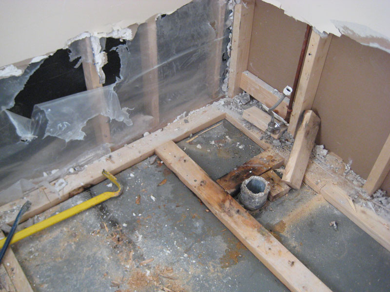flooding & mold problems