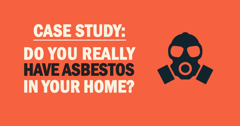 What You See Is Not What You Get: Asbestos in the Attic?