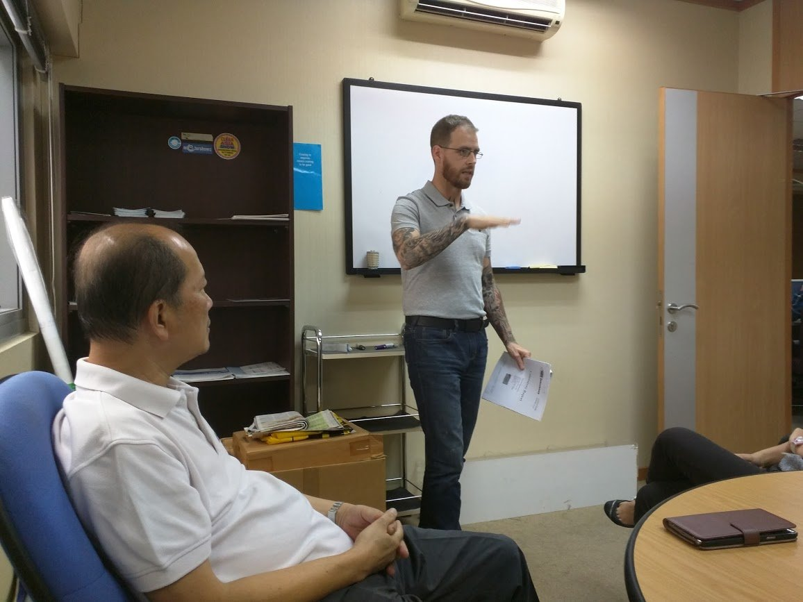 Training Session with Mold Busters Singapore