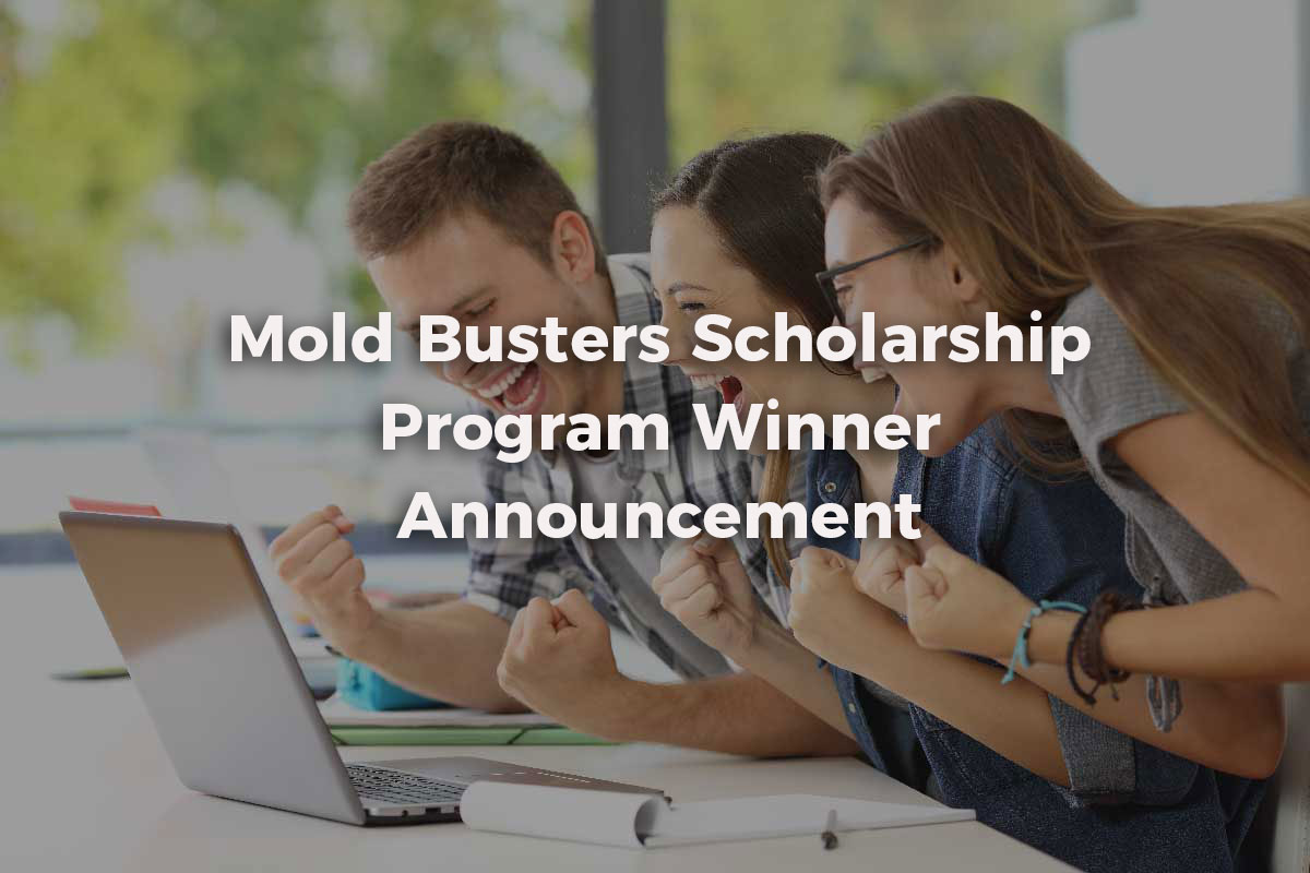Mold Busters Scholarship Winner Announcement