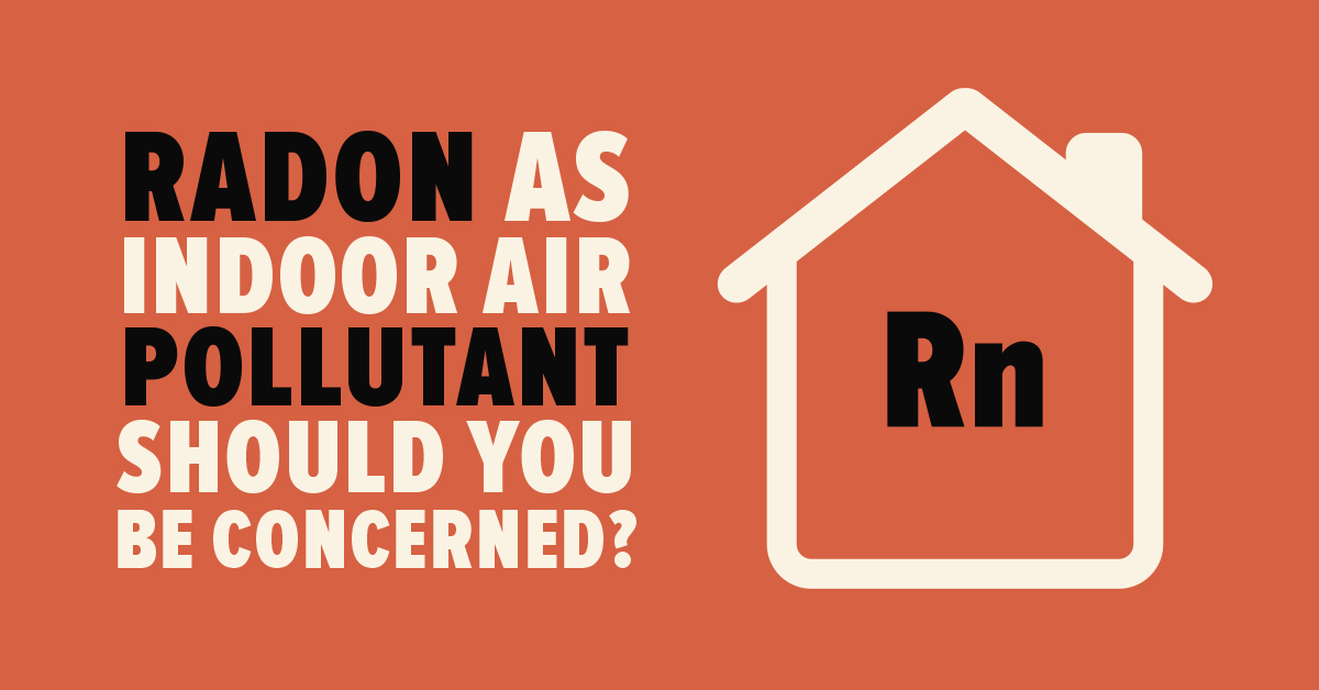 radon air pollutant