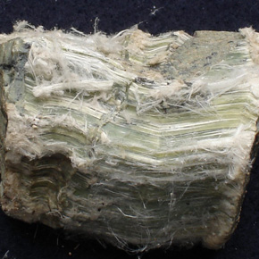 Chrysotile white asbestos