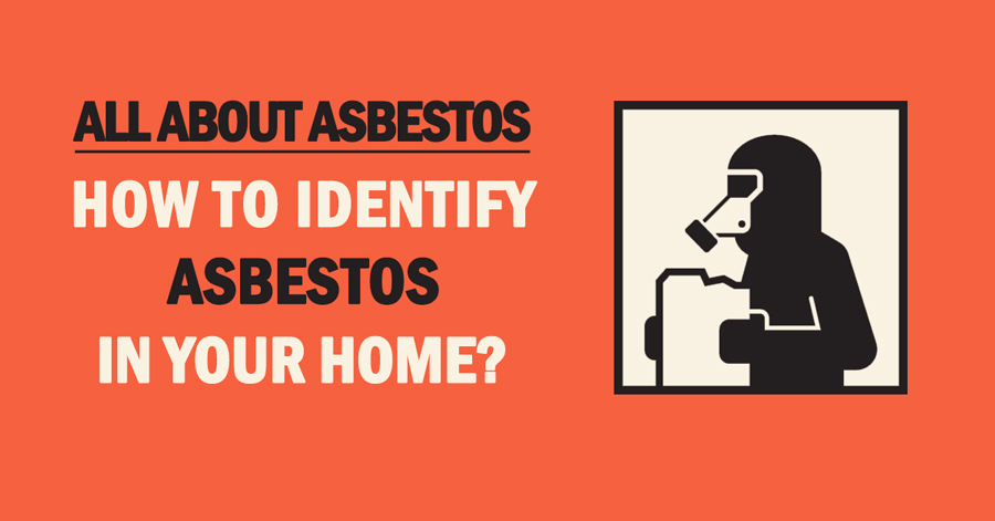 how to identify asbestos in your home