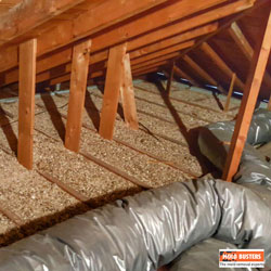 Vermiculite in the Attic