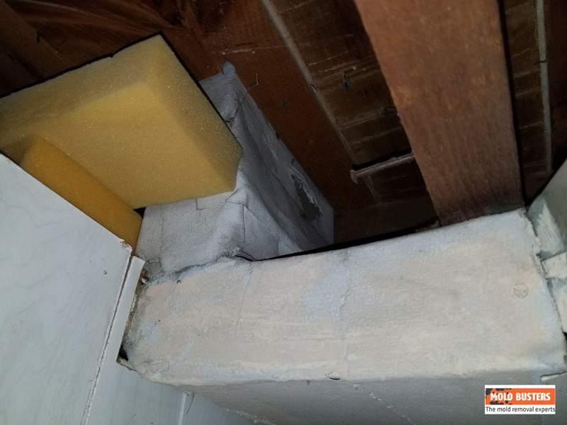 Asbestos Duct Wrap