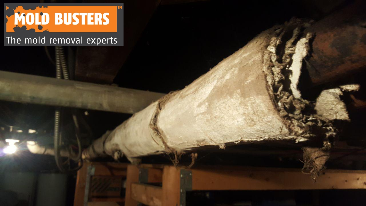 Asbestos Pipewrap Insulation