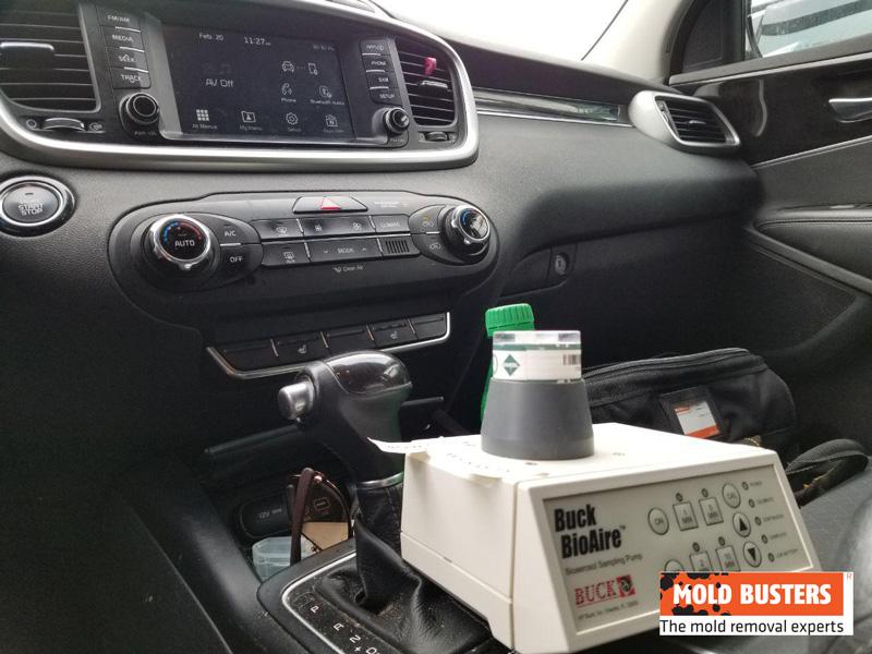 air quality testing inside cars