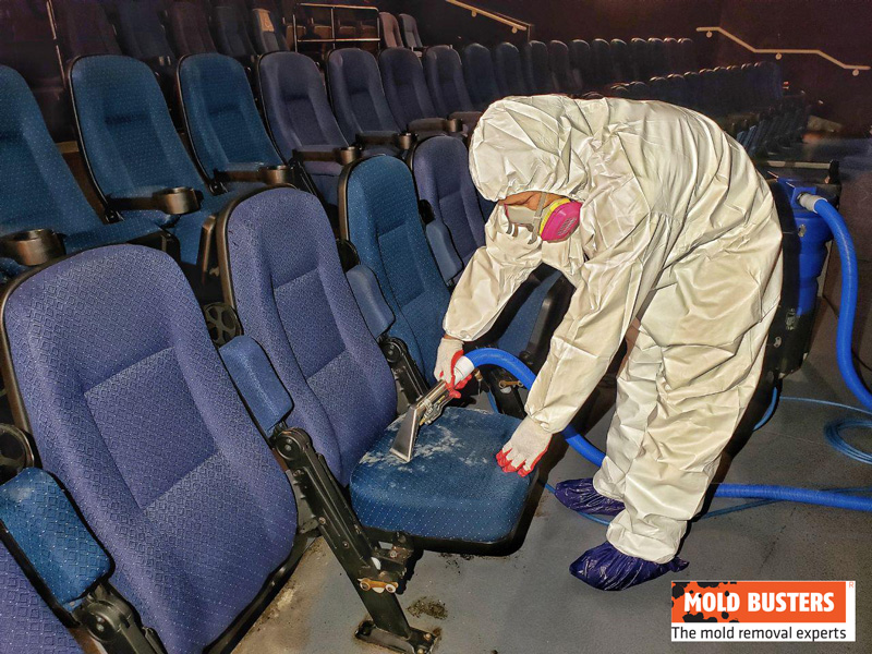 Mold Remediation Disinfecting Textiles 1